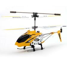 Yellow edition with Gyro S107 3.5CH Remote Control RC Helicopter Toys Metal G1CG