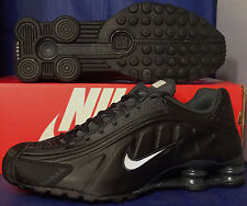Nike Shox R4 Black White Anthracite SZ 9 ( 104265-039 )