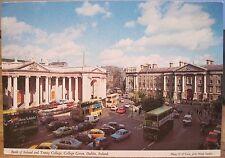 Irish Postcard BANK OF IRELAND College Green DUBLIN Ireland O'Toole Hinde 2/253
