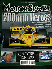 King Ken Tyrrell!!! MONTJUICH spainish GP GRAND PRIX CIRCUIT Martin Donnelly