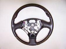 2002-2009 Lexus SC430 Dark Brown Wood Leather Steering Wheel OEM SC