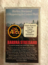 New/Sealed -Barbara Streisand-A Happening in Central Park- Cassette Tape -CBS #3