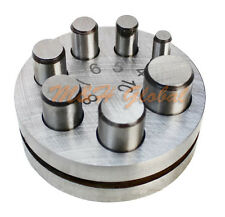 Round 7 Punch Disc Cutter for Cutting Disc Metal Craft Jeweler Tools