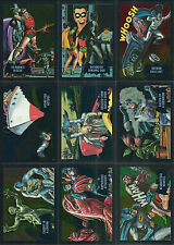 DC Justice League BATMAN CLASSIC TV Show Cryptomium chase Insert 9-Card Set