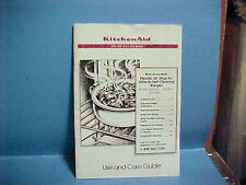 """1992 KITCHENAID ELECTRIC 30"""" DROP-IN SLIDE IN RANGES USE AND CARE GUIDE"""