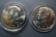 1978-P/D  Lot of 2  Vintage KENNEDY HALF DOLLARS, Philadelphia/Denver Mint Coins