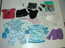 "American Girl Clothes Lot 18"" Doll Soccer Coconut Pajamas Kimono Ballet Books GC"