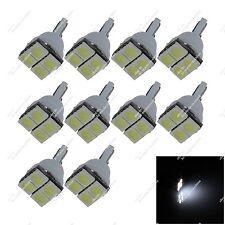 10X White T10 158 W5W 4 SMD 5050 LED Side Dome Light Indicator Bulbs Auto ZA005