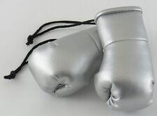 Plata Mini Guantes de Boxeo perfecta como una boda Obsequios