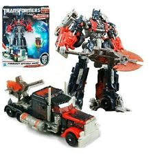 Transformers 3 Voyager Fireburst Optimus Prime Action Figure Toy Doll New in Box