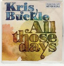 (EP140) Kris Buckle, All Those Days - 2009 DJ CD