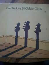 "The Shadows-20 Golden Greats 12"" VINYL LP"
