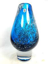 COOLE 70´s DESIGN  SCHOTT GLAS VASE DESIGN H. LÖFFELHARD ZWIESEL 24 cm 10347