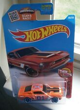 HOT WHEELS 68 Shelby GT500 Mustang GENERAL LEE DUKES OF HAZZARD CUSTOM super 1