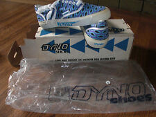 DYNO BMX Canvas Bat Logo Print SHOES vintage Skateboard NOS in Box USA vans