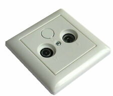 GIRA System/Standard 55 with Cable TV/SAT Aerial socket