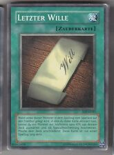 YU-GI-OH Letzter Wille Common SDY-G035