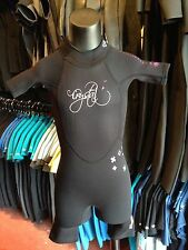 Wet suit Crystal black pink Girls Spring Kids size 2 fits 3 to 4 year olds.