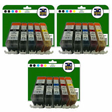 15 Ink Cartridges for Canon Pixma iP3600 iP4600 iP4700 non-OEM 520/521