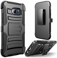 Samsung Galaxy S7 Edge Case Hard&Soft Rubber Hybrid Armor Impact Defender Cover