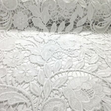 Tulip Guipure Venice French Lace Embroidery Fabric