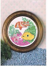 Mary Hickmott Cross Stitch pattern from magazine - CLOWN AND ANGEL FISH