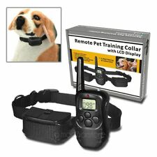 100 Levels LCD 300M Remote Control Dog Training Electric Shock Collar For Dog
