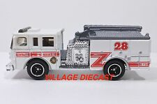 "2010 Matchbox ""Blaze Busters"" Pierce® Dash® Fire Engine WHITE/CENTRAL FIRE/MINT"
