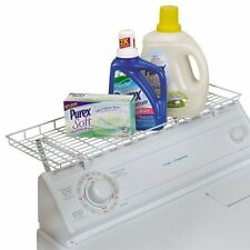 Washer Dryer Laundry Room Storage Shelf Organizer Rack Detergent Holder Mount