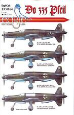 EagleCal Decals 1/48 DORNIER Do-335 PFEIL German WWII Fighter