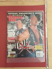WWE WORLD WRESTLING ENTERTAINMENT RAW MAGAZINE HOL 2002 SPECIAL COLLECTORS ISSUE