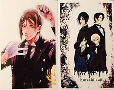 Kuroshitsuji Black Butler-CIEL SEBASTIAN ALOIS CLAUDE Postcard Photo Card Set #O