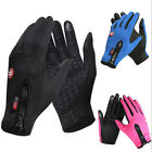 Waterproof Men's Women' Winter Ski Snow Warm Full Finger Touch Driving Gloves