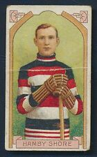 1911 C55 #12 Hamby Shore Imperial Tobacco Card Winnepeg Ottawa