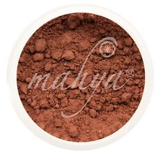 NEW! MAHYA XL 10g NATURAL MINERAL FOUNDATION, DARK AFRICAN COCOA! BEST DEAL!
