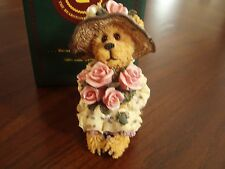 Boyds bears Miss Stopawhyle…Making Time, Rare PE, NIB