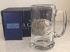 Pewter And Glass Ontario Seagull Of Canada Pint Tankard