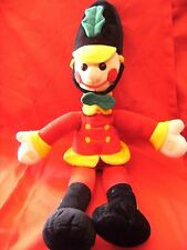 """BOOTS MUSICAL BANDSMAN 23"""" TALL SOFT PLUSH TOY"""