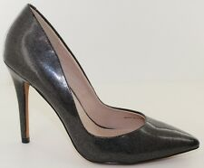 Charles David Pact Black Glitter Stiletto Classic Pumps Heels Womens Size 8 NEW