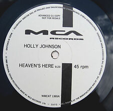 """FRANKIE GOES TO HOLLYWOOD 12"""" Holly Johnson Heaven's Here 3 Trk PROMO UNPLAYED"""