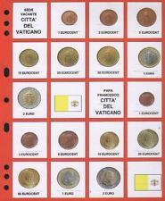 NEW AGGIORNAMENTO EURO VATICANO SEDE VACANTE + PAPA FRANCESCO LOTTO W