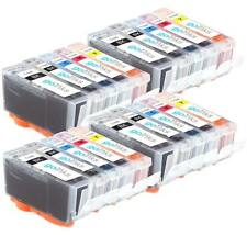 20 Cartucce d'Inchiostro (2 Set) per Canon Pixma iP7250, MG5550, MG6650, MX925