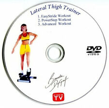 Lateral Thigh Trainer Instructional DVD by Brenda Dygraf - LTT Fitness DVD