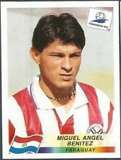 PANINI WORLD CUP FRANCE 1998- #275-PARAGUAY-MIGUEL ANGEL BENITEZ