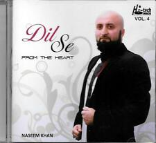 DIL SE - FROM THE HEART - NASEEM KHAN - VOL 4 - NEW ORIGINAL CD -FREE UK POST