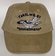 Luftwaffe Basecap Mütze TaktLwG 51 Immelmann Tornado ..........B3356