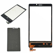 Front Touch Screen Glass Digitizer For Nokia Lumia 920 + Pre-Cut Adhesive