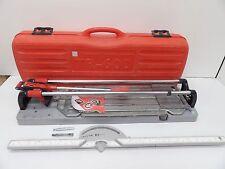 """Rubi TR-600-S - 24"""" Manual Ceramic Tile Cutter - w/Case"""