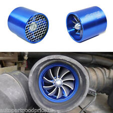 Car Air Intake Fan Supercharger Engine Enhancer Turbo Gas Fuel Vortex Kit Saver
