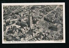 Holland Netherlands GRONINGEN KLM Foto #27-191 Aerial view RP PPC c1930s?